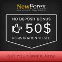 NewForex Broker – 50$ Forex No Deposit Bonus & 100% Deposit Bonus for Only 1$ Minimum Deposit!