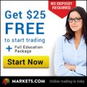 Markets.com – Trade With Real Money Without Deposit!